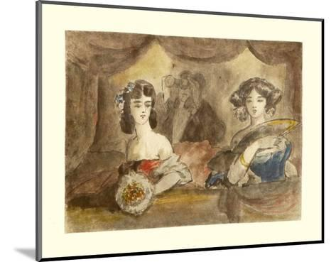 Box in Theatre-Constantin Guys-Mounted Collectable Print