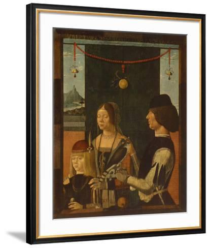 Portrait of a Family-Baldassare Estense-Framed Art Print