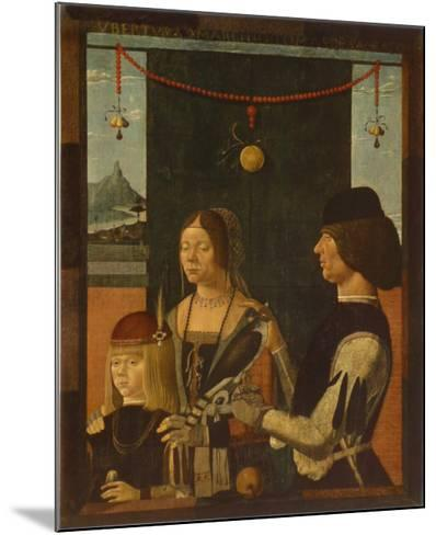 Portrait of a Family-Baldassare Estense-Mounted Collectable Print