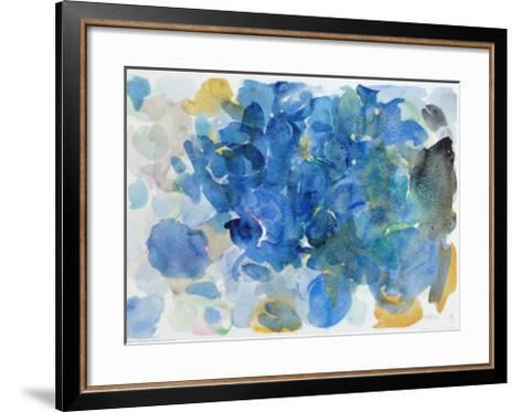 Fugal Blue-Ernst Wilhelm Nay-Framed Art Print