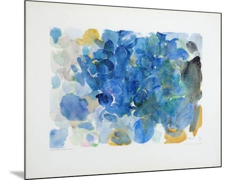 Fugal Blue-Ernst Wilhelm Nay-Mounted Collectable Print