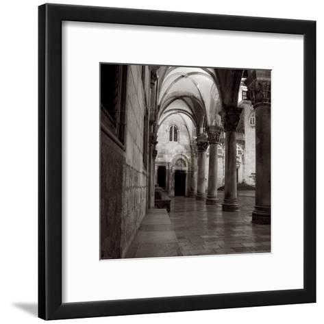 Old Town III-Tony Koukos-Framed Art Print