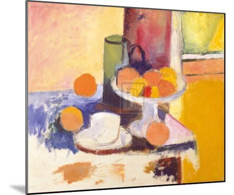 Still Life with Oranges-Henri Matisse-Mounted Art Print