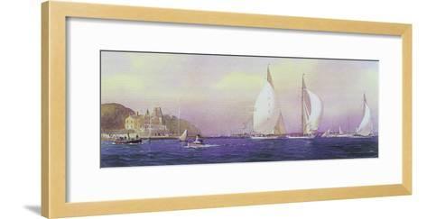 Candida, Shamrock and Astra-Martyn Mackrill-Framed Art Print