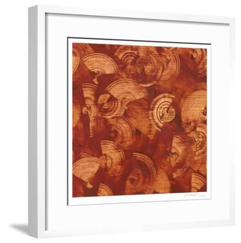 Nautilus in Rust I-Sharon Gordon-Framed Art Print