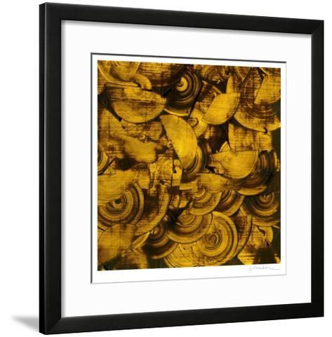 Nautilus in Gold II-Sharon Gordon-Framed Art Print