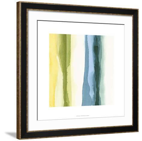 Liquidity IV-Chariklia Zarris-Framed Art Print