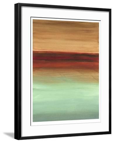 Geologic Sequence II-Ethan Harper-Framed Art Print