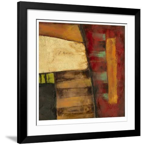 Dynamic Abstraction I-Jennifer Goldberger-Framed Art Print