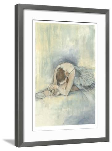 Ballerina Repose II-Jennifer Goldberger-Framed Art Print
