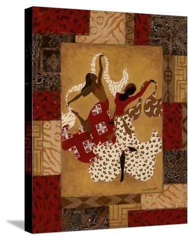 Rejoice I-Jane Carroll-Stretched Canvas Print