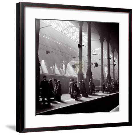 Liverpool Street Station-John Gay-Framed Art Print