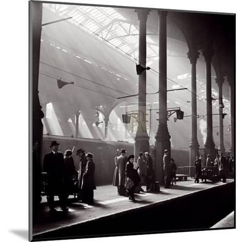 Liverpool Street Station-John Gay-Mounted Art Print