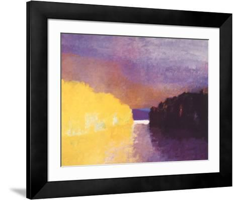 Lemon Squeeze-Wolf Kahn-Framed Art Print