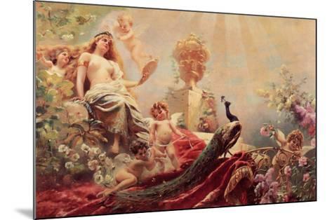 The Toilet of Venus-Constantin Makowsky-Mounted Art Print