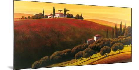 Tuscan Skyline I-Cimino-Mounted Art Print