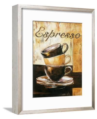 Espressos 3 Tasses-Clauva-Framed Art Print