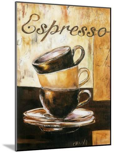 Espressos 3 Tasses-Clauva-Mounted Art Print