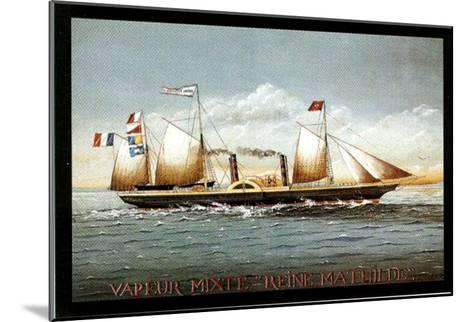 Vapeur Mixte Reine Mathilde-Dominique Perotin-Mounted Art Print