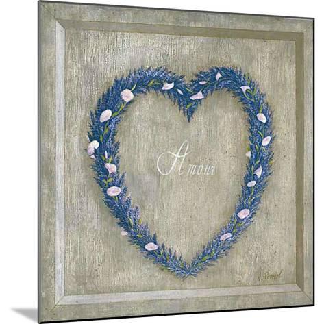 Coeur Amour-Vincent Perriol-Mounted Art Print