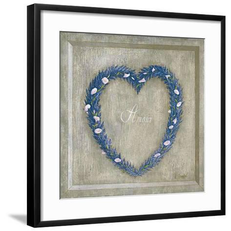 Coeur Amour-Vincent Perriol-Framed Art Print