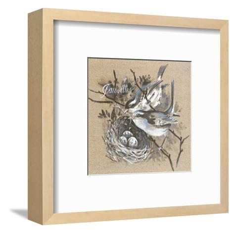 Fauvettes-Pascal Cessou-Framed Art Print