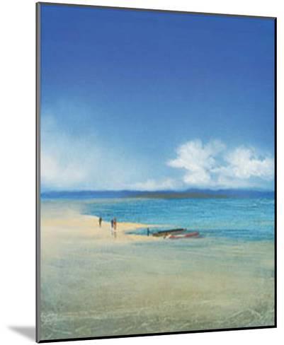 By the Sea III-Juliane Jahn-Mounted Art Print