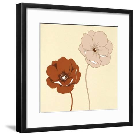 Duetto I--Framed Art Print