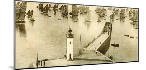 Panoramique, Cancale--Mounted Art Print
