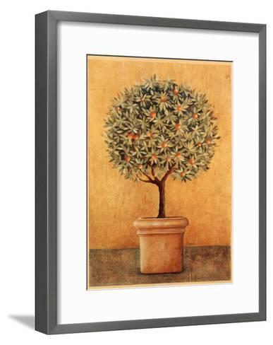 Oranger I-Laurence David-Framed Art Print
