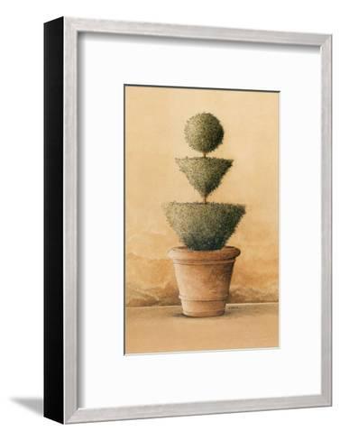 Topiaire IV-Laurence David-Framed Art Print