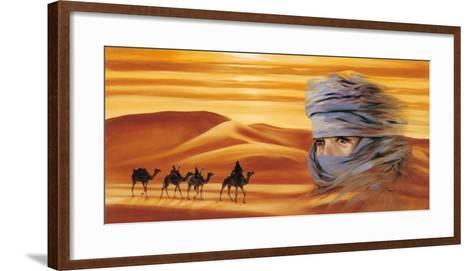 Caravan II-Ali Mansur-Framed Art Print