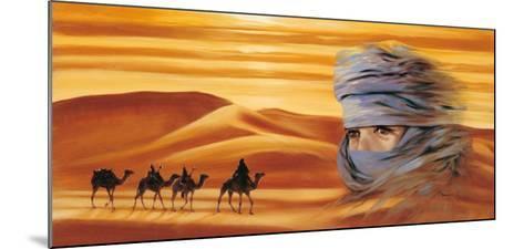 Caravan II-Ali Mansur-Mounted Art Print