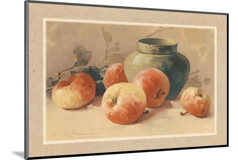 Pommes Rouges-C. Klein-Mounted Art Print