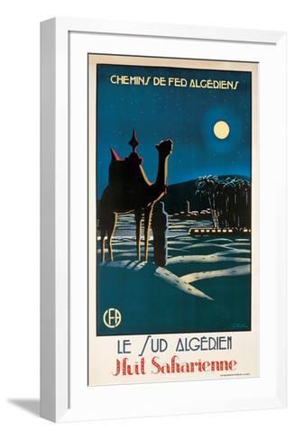 Le Sud Algerien-S^ Besse-Framed Art Print