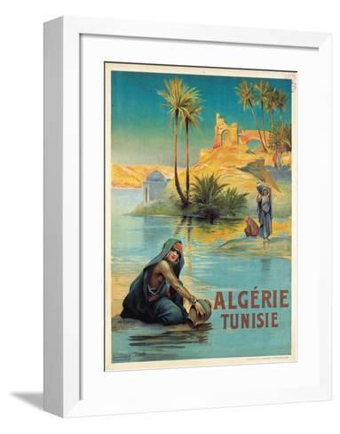 Algerie Tunisie-Louis Lessieux-Framed Art Print