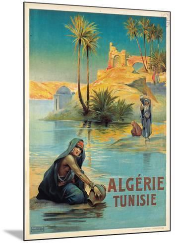 Algerie Tunisie-Louis Lessieux-Mounted Art Print