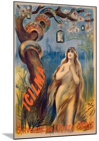 Icilma-PAL (Jean de Paleologue)-Mounted Giclee Print