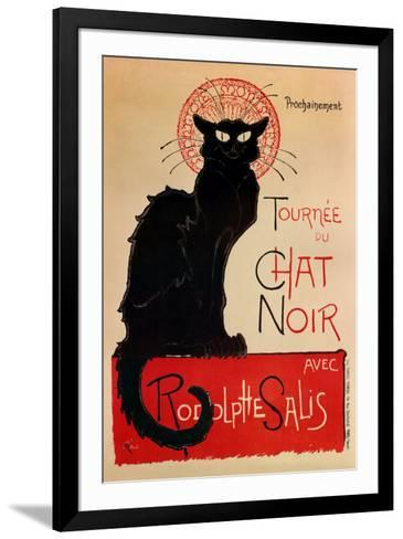 Tournee Du Chat Noir-Th?ophile Alexandre Steinlen-Framed Art Print