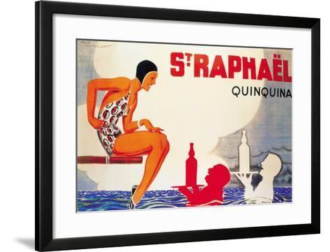 St. Raphael-Ren? Vincent-Framed Art Print