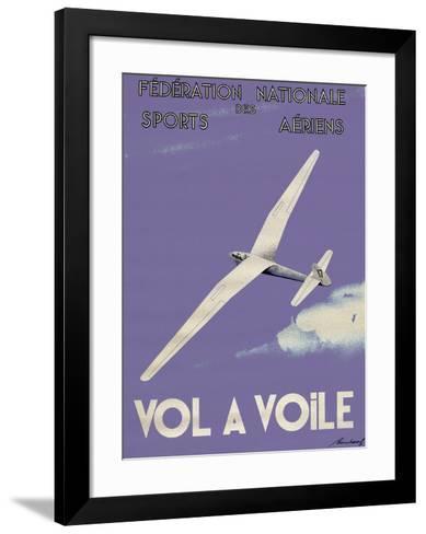 Vol A Voile--Framed Art Print