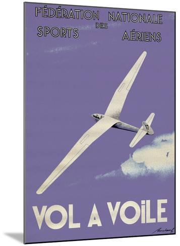 Vol A Voile--Mounted Art Print
