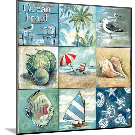 Ocean Front-Gregory Gorham-Mounted Art Print