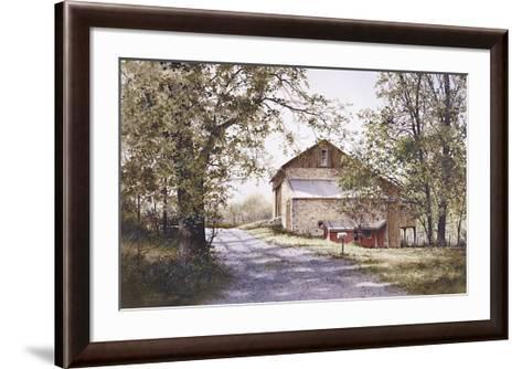 The Road Home-Ray Hendershot-Framed Art Print
