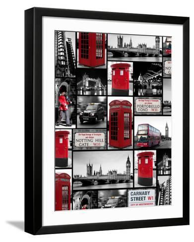 London Repeat-Joseph Eta-Framed Art Print