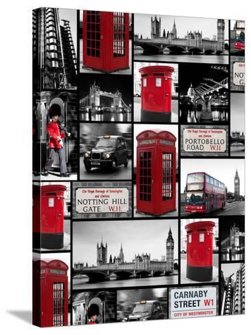 London Repeat-Joseph Eta-Stretched Canvas Print