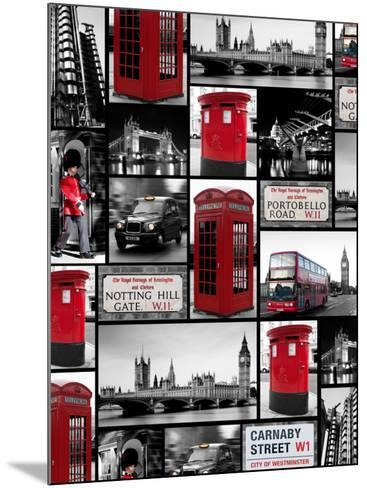London Repeat-Joseph Eta-Mounted Art Print