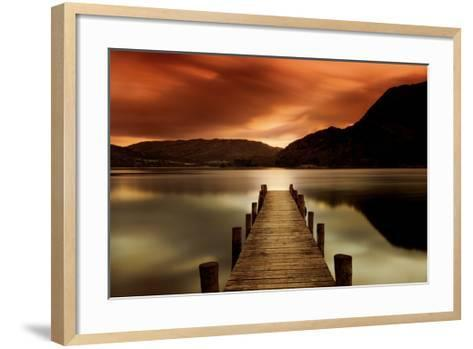 Ullswater, Glenridding, Cumbria-Mel Allen-Framed Art Print