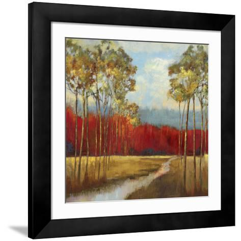 In the Horizon II-Asia Jensen-Framed Art Print