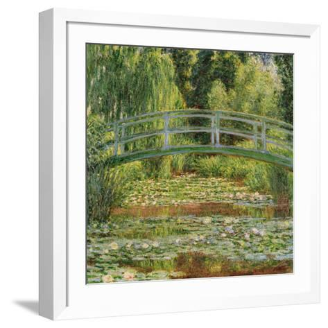Le Pont Japonais, Giverny-Claude Monet-Framed Art Print